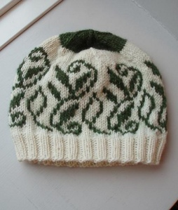 Tane's Leafs in white and green