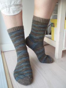 plain man socks - too big for me