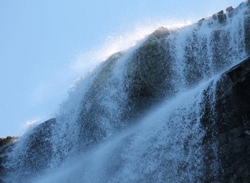 Sermitsiaq waterfall