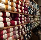 Pickles Oslo yarn wall